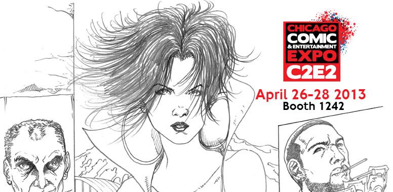 Velica Comics/Strick 9 at C2E2